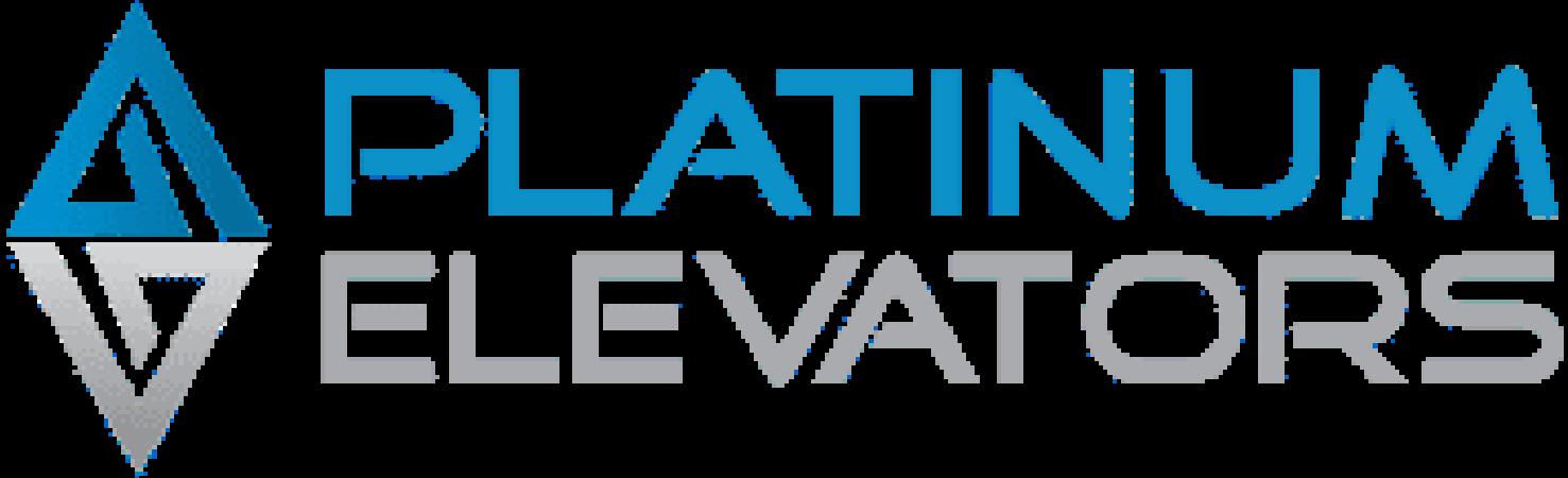 platinum elevators melbourne logo