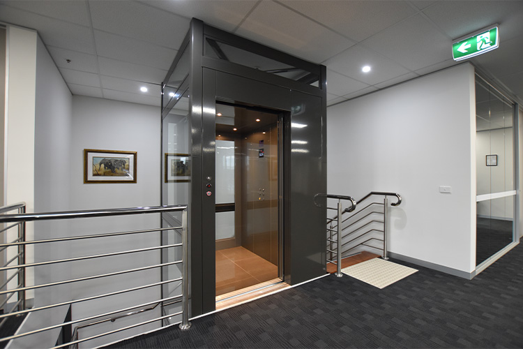 Commercial Crown Lift in Melbourne - platinum elevators 1