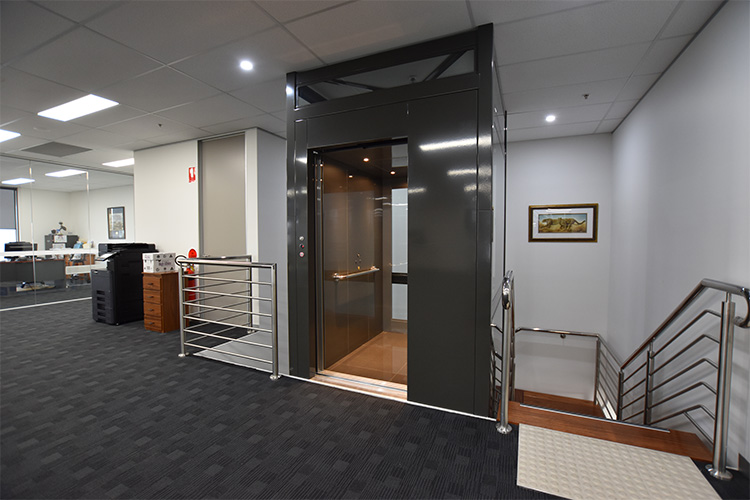 Commercial Crown Lift in Melbourne - platinum elevators 2