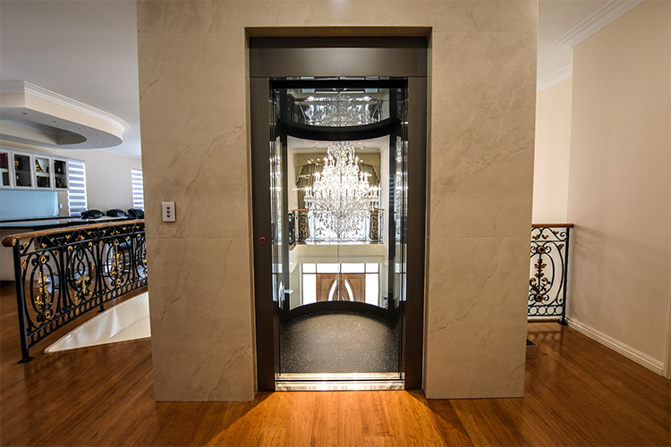 Round Panoramic Lift in Melbourne - platinum elevators 2