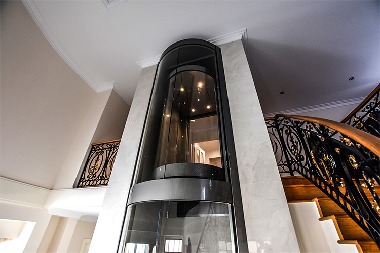Round Panoramic Lift in Melbourne - platinum elevators 3