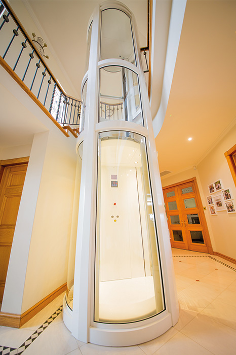 Round Panoramic Lift in Melbourne - platinum elevators 4
