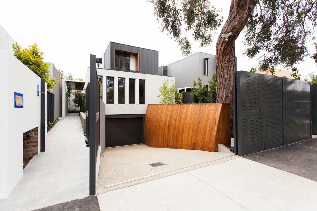 classic elevator design - exterior house melbourne