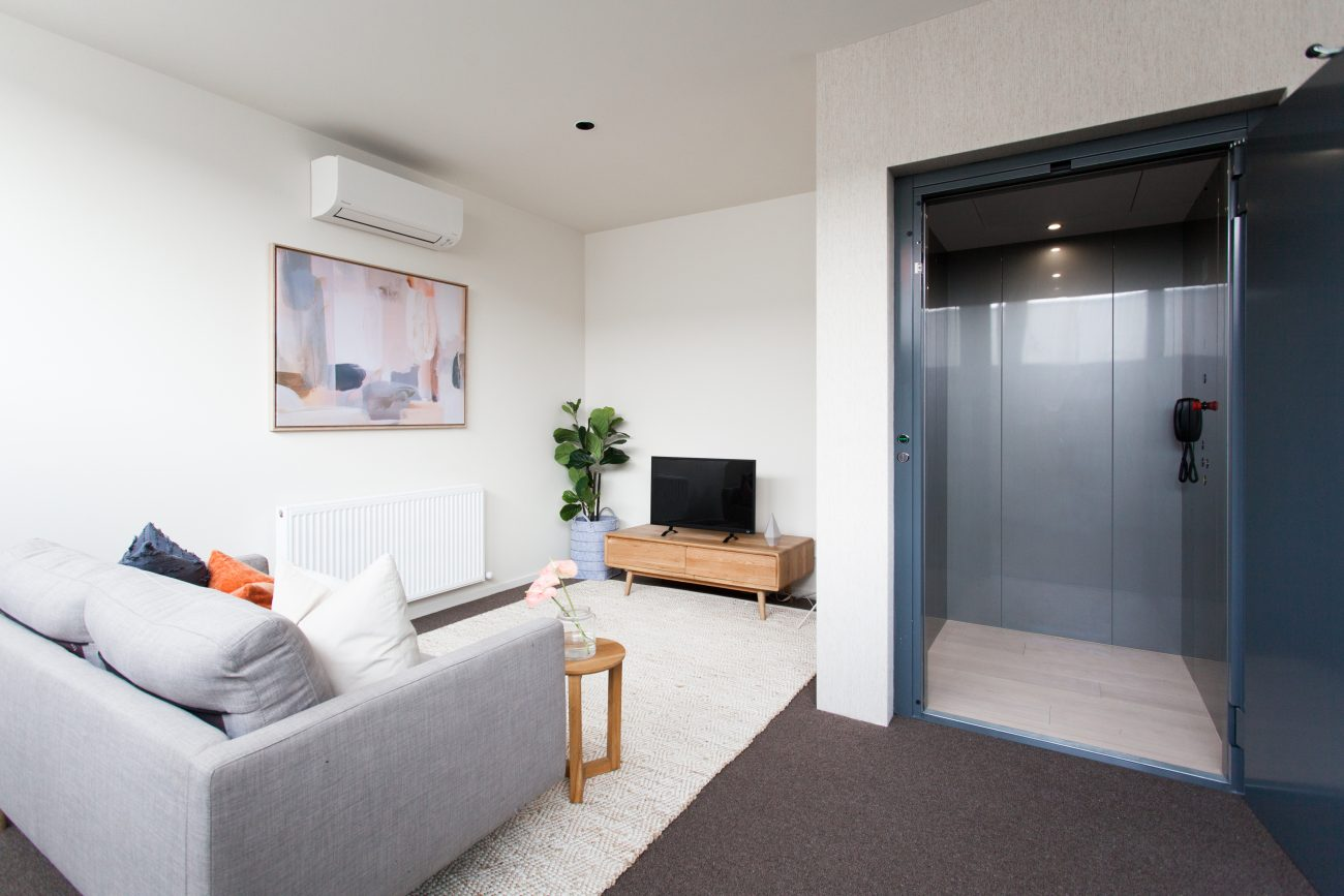 residential lift in melbourne - brighton lift