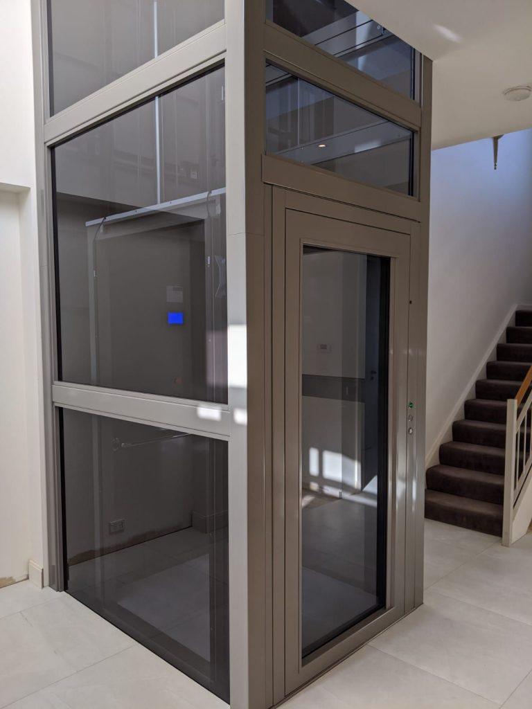 Toorak - Sovereign Lift in Glazed Metal Structure