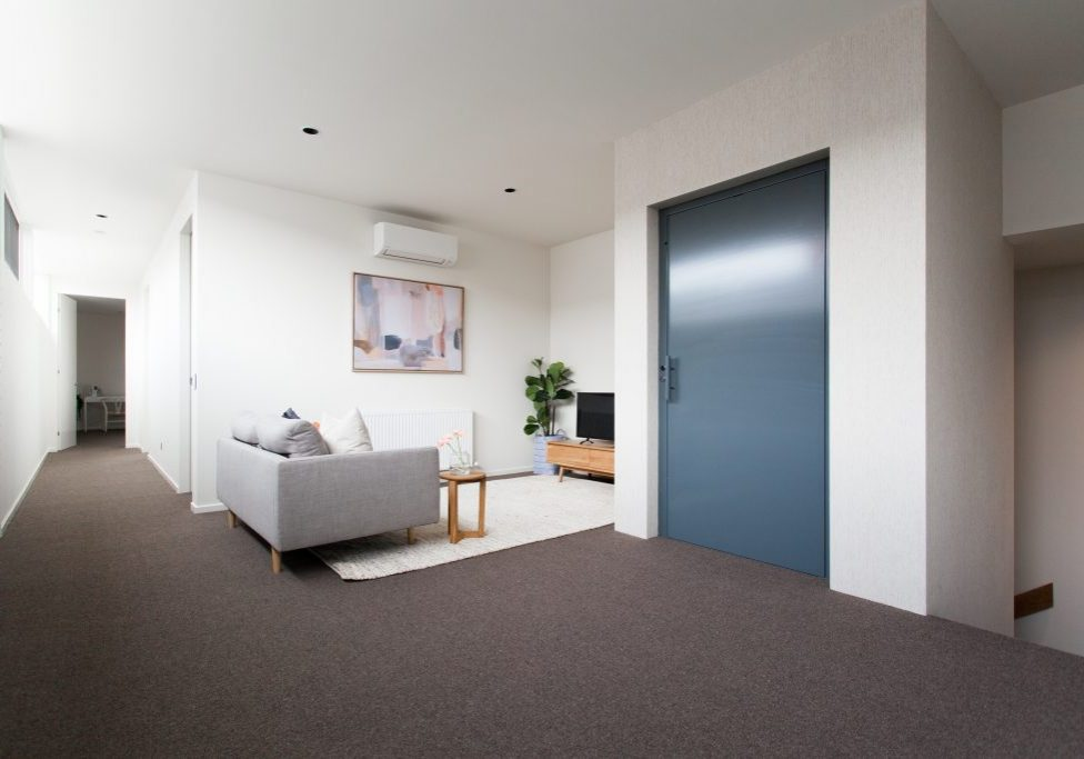 classic lift design for a home in melbourne