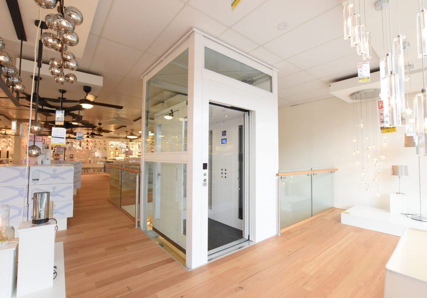 retrofit of a lift in a commercial melbourne space
